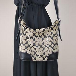 Vintage coach signature hobo bag purse J2K-6347